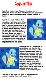 Squirtle Reading Comprehension