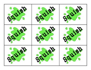 Squish! A CVC Nonsense Word Fluency Game