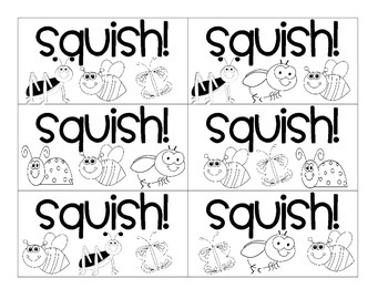 Squish! A Nonsense Word Game