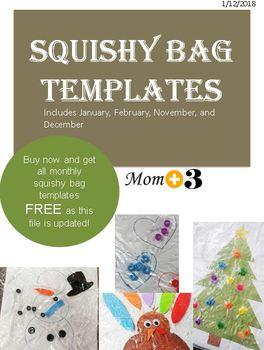 Squishy Bag Templates