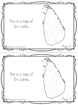 Sri Lanka Country Study | 48 Pages for Differentiated Learning + Bonus Pages