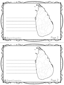 Sri Lanka Booklet Country Study Project Unit