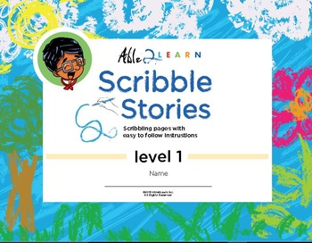 Scribble Book Printing Language Reading Counting Literacy