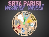 Srta Parisi | Interactive Weather Wheel!