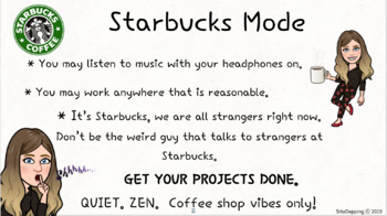 Srta's Starbucks Mode