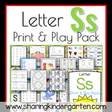 Letter Ss {Print & Play Pack}