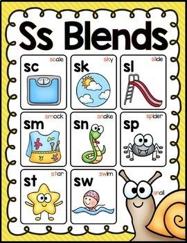 Ss Blends Activites