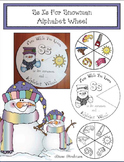 Ss Is For Snowman Alphabet Wheel