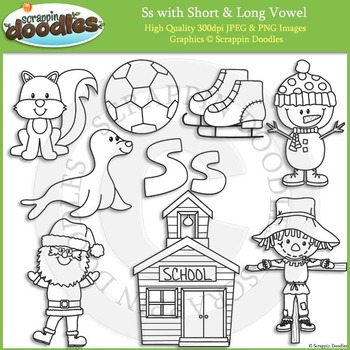 S Short and Long Vowel