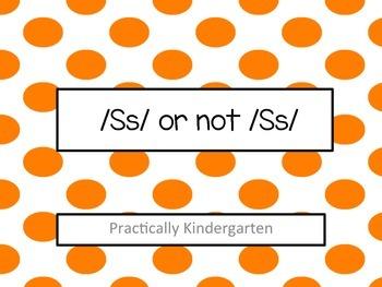Ss not Ss