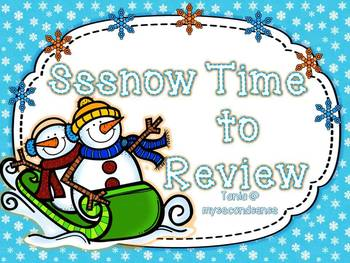 Ssssnow Time to Review