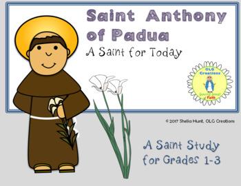 St Anthony of Padua, Saint Study