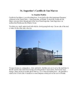 St. Augustine's Castillo de San Marcos