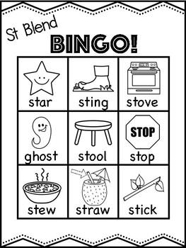 St Blend Bingo [10 playing cards]