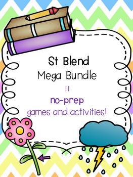 St Blend Mega Bundle [11 no-prep games and activities]