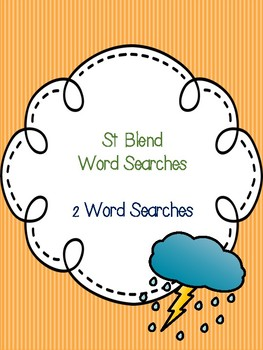 St Blend Word Searches!