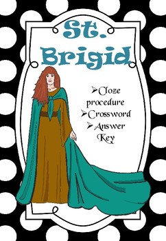 St. Brigid (Cloze Procedure and Crossword)