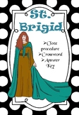 St. Brigid (Cloze Procedure and Crossword)