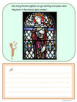 Christianity: St. Columba Activity Pack
