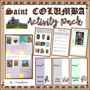 Christianity: St. Columba Activity Pack