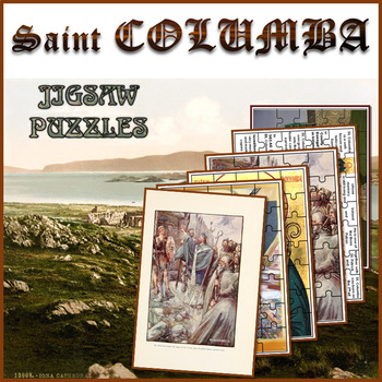Christianity: St. Columba Jigsaw Puzzles