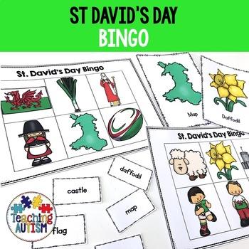 St. David's Day Bingo