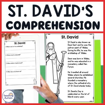 St. David's Day Reading Comprehension Passages and Questions