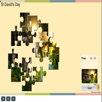 St David's Day Jigsaw Collection Grade 1 - 3