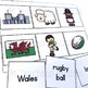 St. David's Day Word to Picture Matching Activity