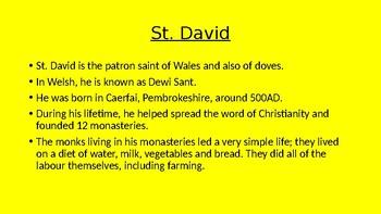 St. David's Day assembly