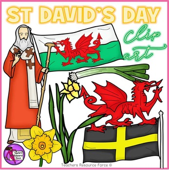 St David's Day Clip Art