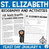 St. Elizabeth Ann Seton Biography & Activities | Catholic Schools Week