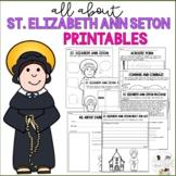 St Elizabeth Ann Seton Research - Catholic Saints