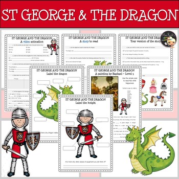 St George and the Dragon - ESL and Arts