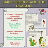 St. George and the Dragon Legend and Myths, Presentation,