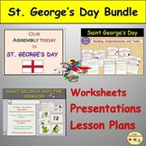 St. George's Day BUNDLE - Assembly Lesson Myths/Legends Co