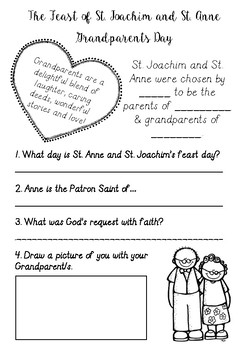 St. Joachim & St. Anne {Grandparents Day}