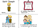 Saint Joseph Mini Book and Coloring Pages