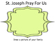 St. Joseph Mini Book and Coloring Pages