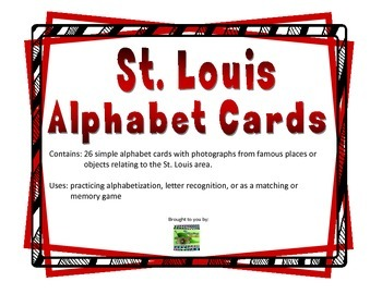 St. Louis Alphabet Cards