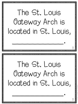 St. Louis Arch Mini-Books (U.S. Landmarks)