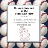 St. Louis Cardinals Logo on the Coordinate Plane