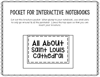 St. Louis Cathedral Research Project Brochure Template, Geography, History