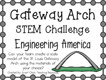St. Louis Gateway Arch ~ Engineering America ~ STEM Challenge