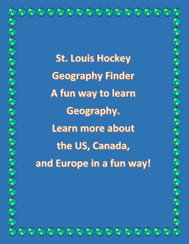 St. Louis Hockey Geography Finder