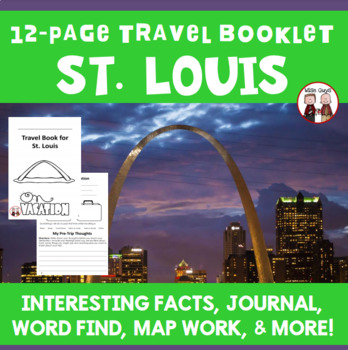 St. Louis Vacation Travel Booklet