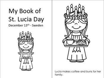 St Lucia Day - Christmas Around the World - PreK-1