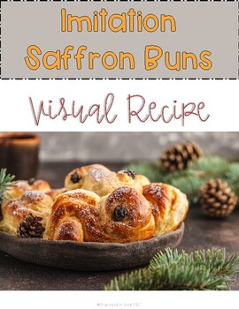 St Lucia Imitation Saffron Buns Visual Recipe