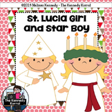 St. Lucia Girl and Star Boy