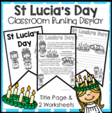 St Lucia's Day Display Activity